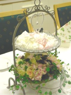 Tiered Stand, Centerpieces, Table Decorations, Cake Plates, Hanging Chair, Baby Shower, Display, Wedding, Party