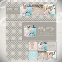 Facebook Timeline Cover Templates: Fresh Studio - 3 Facebook Covers by Beauty Divine