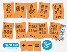 The counting Tiki - Learning numbers in the reo Maori