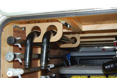 Weight distribution bar and Hitch Storage
