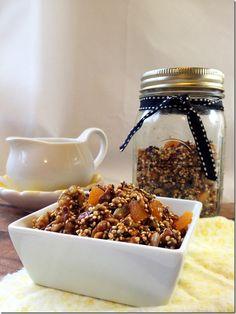 Quinoa & Pumpkin Seed Granola {No Oats} | From the Little Yellow Kitchen