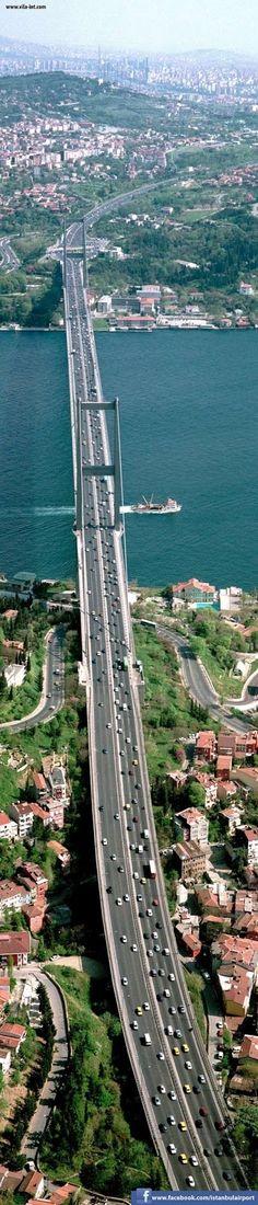 : Bosphorus Bridge, the Bridge that belongs to Two Continents