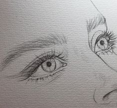 portrait drawing pencil Bleistiftzeichnung Bild entdeckt von H E A R T B E A T . Pencil Drawing Pictures, Pencil Art Drawings, Art Drawings Sketches, Pictures To Draw, Cool Drawings, Sketches Of Eyes, Drawings Of Eyes, Tumblr Art Drawings, Pencil Sketching