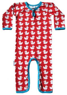 JNY Design - Badeendjes Rood Jumpsuit