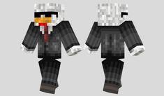 Agent Chicken Skin para Minecraft