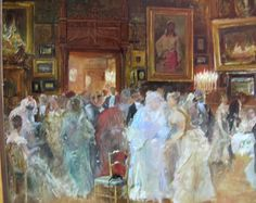Serata - Bal mascat in atelier 1878 Titanic, Bali, Artist, Painting, Atelier, Kunst, Artists, Painting Art, Paintings
