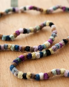colours! sophie digard necklace