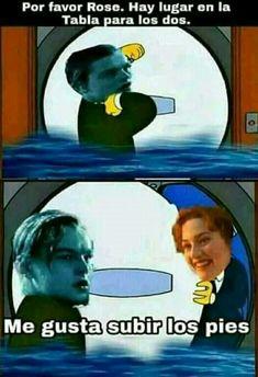 Jaja entendi esa referencia (Titanic)