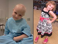 When Work Hits Home: Hailey's Leukemia Story - 700 Children's  September is Childhood Cancer Awareness Month! Support by wearing gold for these warriors!