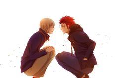 K Project - K Missing Kings - K Anime - Totsuka Tatara - Suoh Mikoto - HOMRA