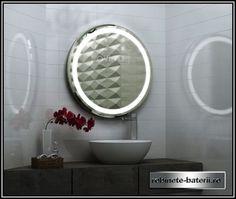 Oglinda baie rotunda Melissa | Mirror, Bathroom, Furniture, Home Decor, Washroom, Decoration Home, Room Decor, Mirrors, Home Furnishings