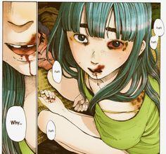 Oyasumi Punpun - Aiko Tanaka Arte Horror, Horror Art, Manga Illustration, Character Illustration, Bonne Nuit Punpun, Manga Gore, Art Sketches, Art Drawings, Goodnight Punpun