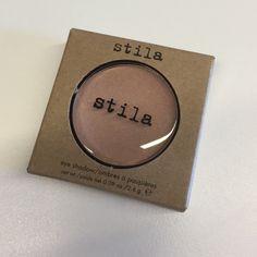 10% off bundles! Stila eye shadow New in box Stila eye shadow in shell. Never opened or swatched! NO TRADES Stila Makeup Eyeshadow