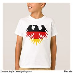 German Eagle Crest T-Shirt - Sold at Flags2Go on Zazzle.