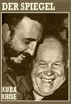 Fidel Castro und Nikita Chrustschow