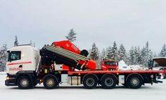 Scania. zwaar autokraan. Fassi F2150.