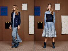 Best Of NYFW Fall 2015, Part 3  Band of Outsiders.    Love the shirt dress and corset