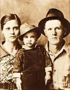 Elvis Presley & his parents
