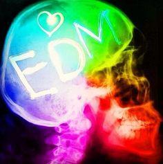 EDM is in our brains! We live it! #edm #dancefestopia #plur