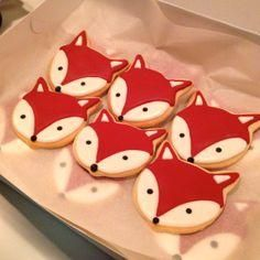 What does the fox say? Check out Gift Wrap Wonderland!  Looks like cookies to me!