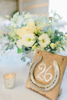 Rustic-pretty table numbers: http://www.stylemepretty.com/little-black-book-blog/2015/08/24/historic-and-intimate-new-jersey-barn-wedding/ | Photography: Rachel Pearlman - http://www.rachelpearlmanphotography.com/#!/home