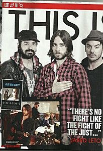 Thirty Seconds, 30 Seconds, Shannon Leto, Just Jared, Jared Leto, Mars, Sexy Men, March 2013, Eye Candy
