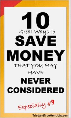 Are you looking for more ways to say in We've compiled a list of many ways people don't consider. If you're serious about saving you have to check out this list and save more money. Money Saving Mom, Best Money Saving Tips, Ways To Save Money, Money Tips, Money Hacks, Frugal Living Tips, Frugal Tips, Budgeting Finances, Budgeting Tips