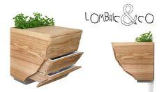 Le Lombric&Co est un lombricomposteur d'appartement qui s'intègre parfaitement à l'espace de la cuisine. Doté d'une planche à découper l'utilisateur y prépare ses aliments, puis d'un geste, recycle ses déchets verts. Sa forme inspirée de l'écorce terrestre souligne les stades ...