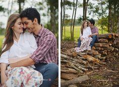 Fotos pré casamento no friozinho do Outono