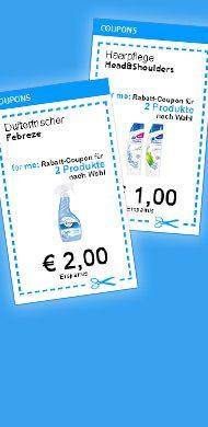 Über 19 Euro sparen - Gleich Coupons ausdrucken