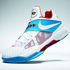 228d55d963d2 Kevin Durant new KD IV basketball shoes raise money for a great cause. KD  is Streetball.