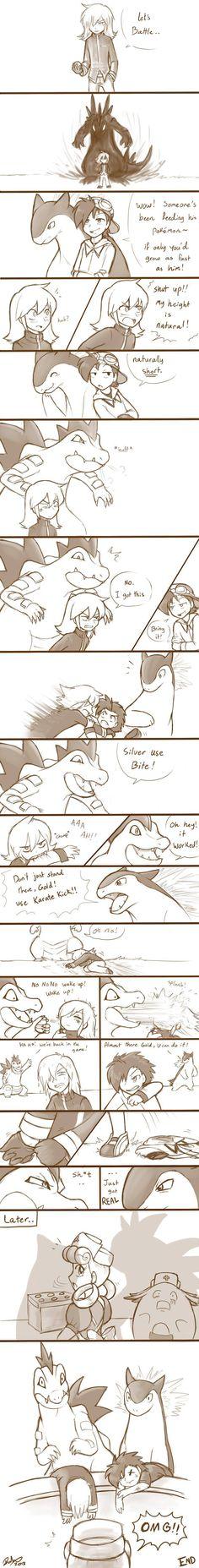 Pokemon - Silver vs Gold. Totally worth the read.