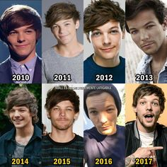 When Louis made puberty his bitch like 20 times in 8 years!!
