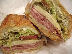 Bay Cities Italian Deli (in Santa Monica): Spicy Godmother - yumm!  Love that you can skip the lines and preorder online but I miss wandering up and down the aisles sometimes...