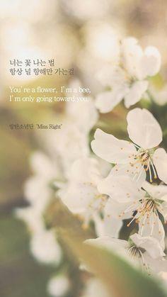 Miss Right - BTS (방탄소년단) Wallpaper - (By 1theK)