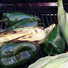 """Roasted Corn and Poblanos I """"Prepared this over the weekend for a holiday gathering and it was a big hit. Definitely do not shy away from this if you're concerned about the heat -- cooking the peppers mellowed them out significantly."""""""