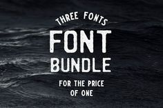 Hand-crafted font bundle. SAVE 65%! by markydtt on @creativemarket