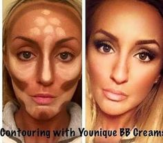 Countour with bb flawless by younique Shop now!!  Www.fb.com/youniquebynoheli