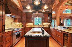 bright kitchen design