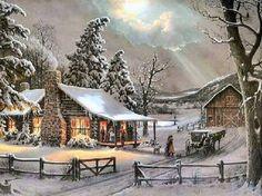 Winter Scene (108 pieces)