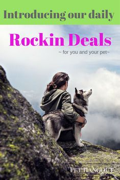 Pet Hangout offers exciting daily deals that you shouldn't ever miss!!  Rocking Deals change daily and offer amazing benefits for you and your pet.  rockin deals, pethangout's deals, cats, dogs, specials, timed deals, deals with countdowns