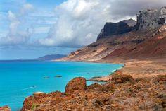 Ilha de Socotra, Iêmen: O mar turquesa é sem dúvidas a porta de entrada para o Arquipélago de Socotr... - Shutterstock