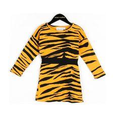 Mini Rodini Tiger Stripes Dress  | www.littlesahou.com
