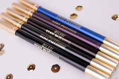 Milani Stay Put Waterproof Eyeliner Pencil swatches and review