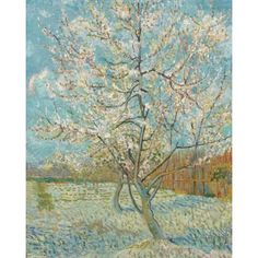 【_segatimmar_】さんのInstagramをピンしています。 《The Pink Peach tree, 1888.  Vincent Van Gogh . . . . #vincentvangogh #vincent #vangogh #pink #peach #tree #flowers #nature #art #gallery #artgallery #cherryblossoms #peachtree #pencil #artist #painter #painting #famous #spam4spam #likesforlikes #likeforlike #like4like #follow4follow #beautiful #perfect #green #blue #white #light》