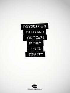 Novel Progress + Imposter Syndrome   Tina Fey quote