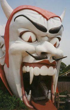 An entry way at the defunct Miracle Strip Amusement Park, Panama City Beach Florida