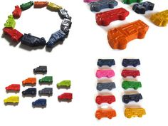 Fire Truck and Ambulance Crayons set of 40  party by KagesKrayons, $32.00