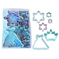 Perfect to make cookies for a Frozen party or to give as favors!