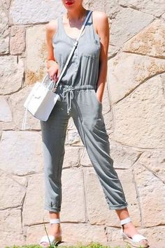Drawstring Jumpsuit by Cloth & Stone
